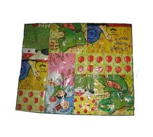 Customized pp woven bopp laminated camping mat