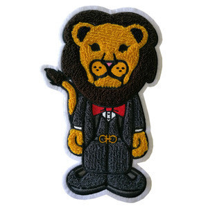 Embroidery Wholesale Custom Chenille Patch,Iron On Cheap Chenille Letter Patchs
