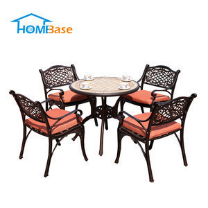 Import Factory Direct Sale No Folded Garden Sets Coffee Shop Home Garden Outdoor Cast Aluminium Furniture H G007 031 From China Find Fob Prices Tradewheel Com
