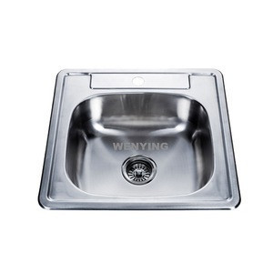 Favorable Design High-Quality Stainless Steel Kitchen Sink with US Standard Size for Wash Dinnerware 21*20inch