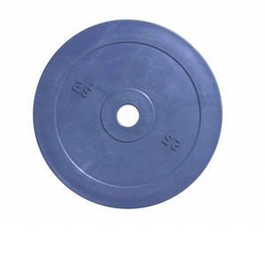 Fitness Rubber Technique Bumper Plate For Weight Lifting