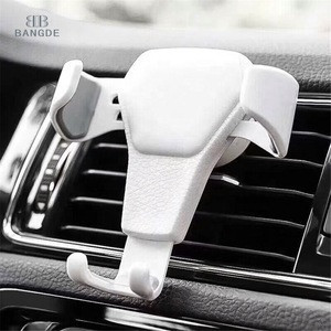 Gravity Car Holder For Phone in Car Air Vent Clip Mount No Magnetic Mobile Phone Holder Cell Stand Support