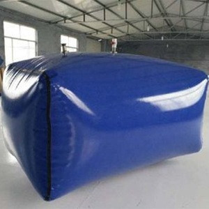 High strength Blue 1000D/30X30 1200GSM pvc coated fabric for biogas plant