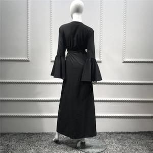 Islamic wholesale in stock fashion three colors women chiffon abaya