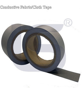 LS Ultra Thin NI/CU Plated Electrically Conductive Fabric Tape