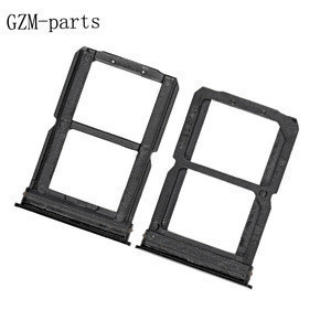 Mobile Phone Spare Parts Sim Card Tray For One Plus 6 Sim Card Holder Slot Repair Parts