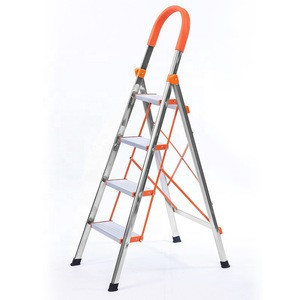 Movable Ladders ladders with handrail  Safety Movable Step Ladder