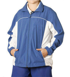 Promotional 100% Polyester Track Suit Children Jackets