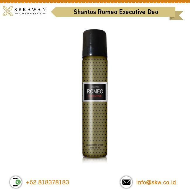 Rich Quality Attractive Fragrance Shantos Romeo Grey Executive Deo Spray