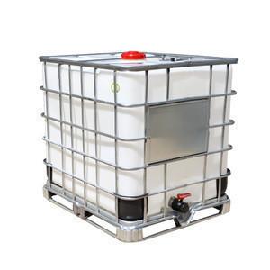 Rotational molding IBC tote chemical storage tank