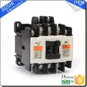 SC-5-1 electric magnetic ac contactor 220v 380v electric current 19A good quality