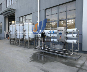 Small Water Purification Ro Drinking Pure Water Treatment Plant / System / Machine