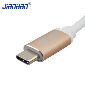 Usb Type-c 3.1 Mini Dp Cable Aluminium Case Type C Adapter