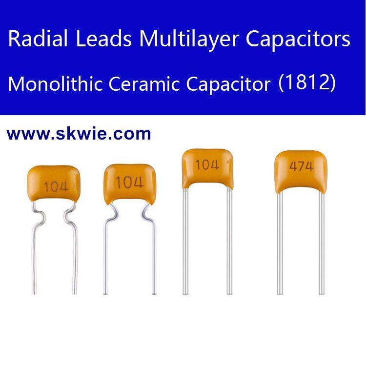 Radial leads 470NF 630V B474K X7R 1812 multilayer ceramic capacitor
