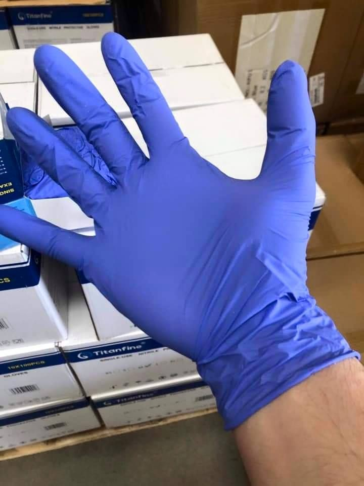 Nitrile Examination Gloves Powder-free