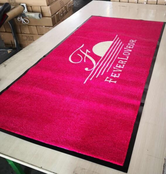 Printed Floor Mat with Logo