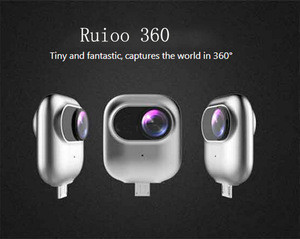 2017 new arrival all-in-one 360 degree VR Cameras fashion design panoramic camera action 360 VR camera