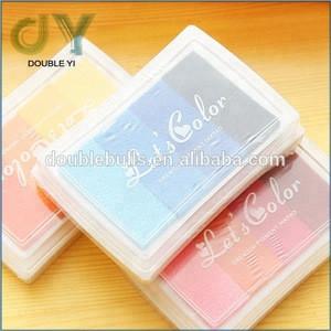 4 in 1 Wholesale Gradient Color Inkpad Creative Office& School Supplies Promotional Ink Pad