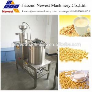 Automatic stainless steel soya milk tofu making machine ,dofu milking machine for sale ,soya meat making machine