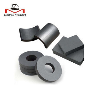 Best quality free sample arc motor ferrite magnets