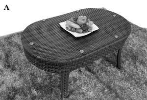 Cheap price outdoor/indoor furniture livingroom garden synthetic rattan sofa