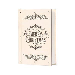 Christmas lights ornaments decoration Happy merry Christmas book wall light and christmas tree lights