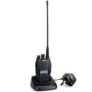 Dual band woki toki handheld UHF VHF ham radio transceiver walkie talkie