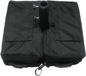 Factory direct friction sand injection umbrella base weight bag