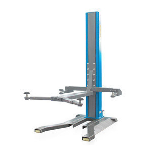Factory price 2.5 ton movable single post hydraulic car lift