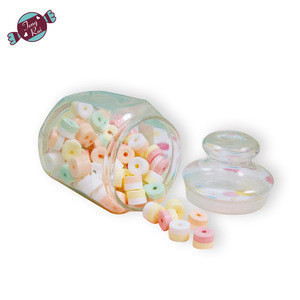 Fruity flavour  whistle  press hard candy dextorse candy