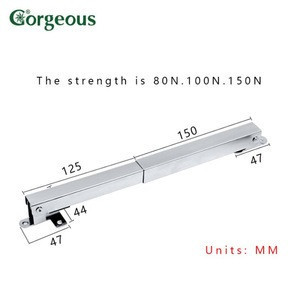 Gorgeous Hardware Hydraulic Gas Strut Lift Support ,Damper Gas Lift Support