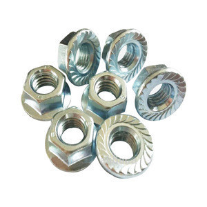 High quality hex flange nuts made by Xiang Dong