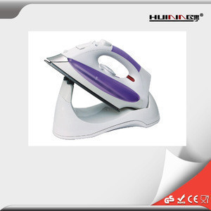 Home use cheap electric cordless steam irons popular sale in Europe market with CE GS ROHS