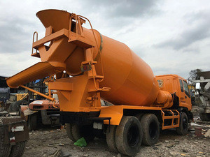 ISUZU Concrete Mixer Truck For Sale