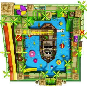 Kids Pirate Ship Indoor Playground