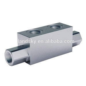 LandSky V-EQ 30-G1/2-F-G3/8 3 ways variable displacement hydraulic pump power directional control flow divider valve
