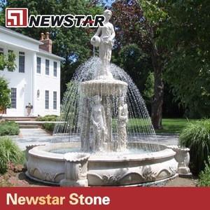Natural stone granite Chinese water fountain