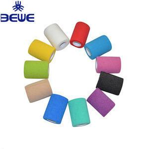 Non Woven Self Adhesive Elastic Gauze Bandage Tape for Sports Safety