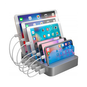 Novelty Desktop 6 Port USB Charging Station