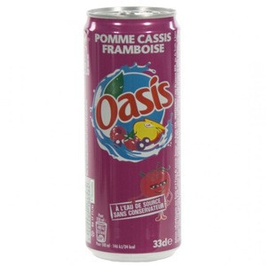 Oasis Beverage/Drink 24x33cl CAN