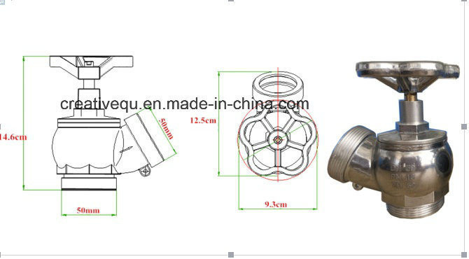 OEM, Fire Hydrant Valve Equipment Alu/Zh50