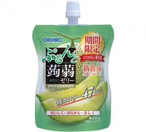 OEM Melon Jelly Drink Law Calorie 47kcal made in Japan 130g