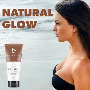 Organic Natural Ingredients Sunless Tanning Lotion private label