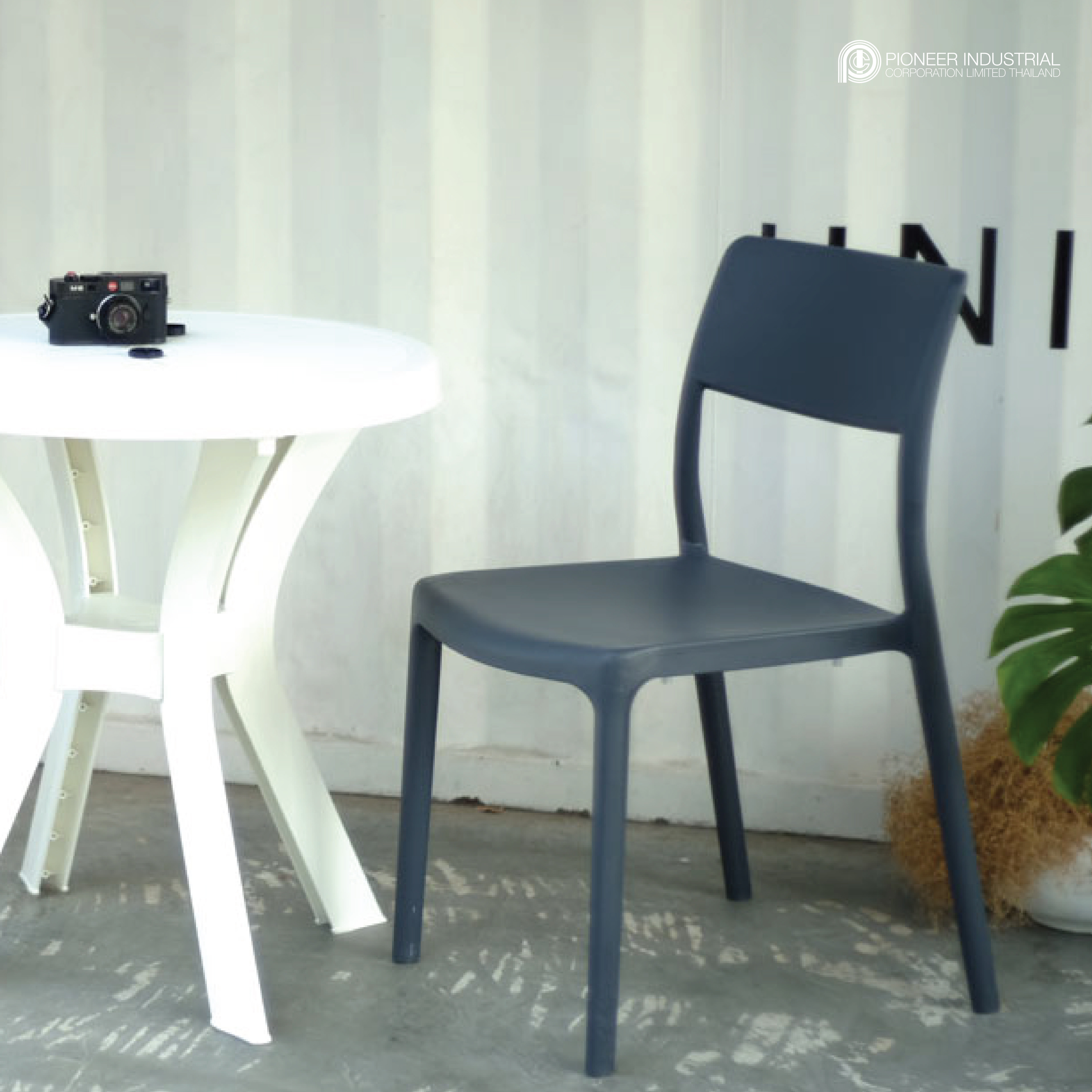 Plastic chairs furniture outdoor furniture shunde furniture mall Pioneer Thailand manufacturer exporter high quality products