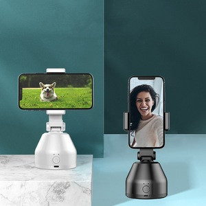 Rechargeable Wholesale object tracking holder selfie 360 rotation smart shooting face tracking phone holder