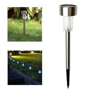 Solar Lights Outdoor Garden Led Light Landscape/Pathway Lights Stainless Steel