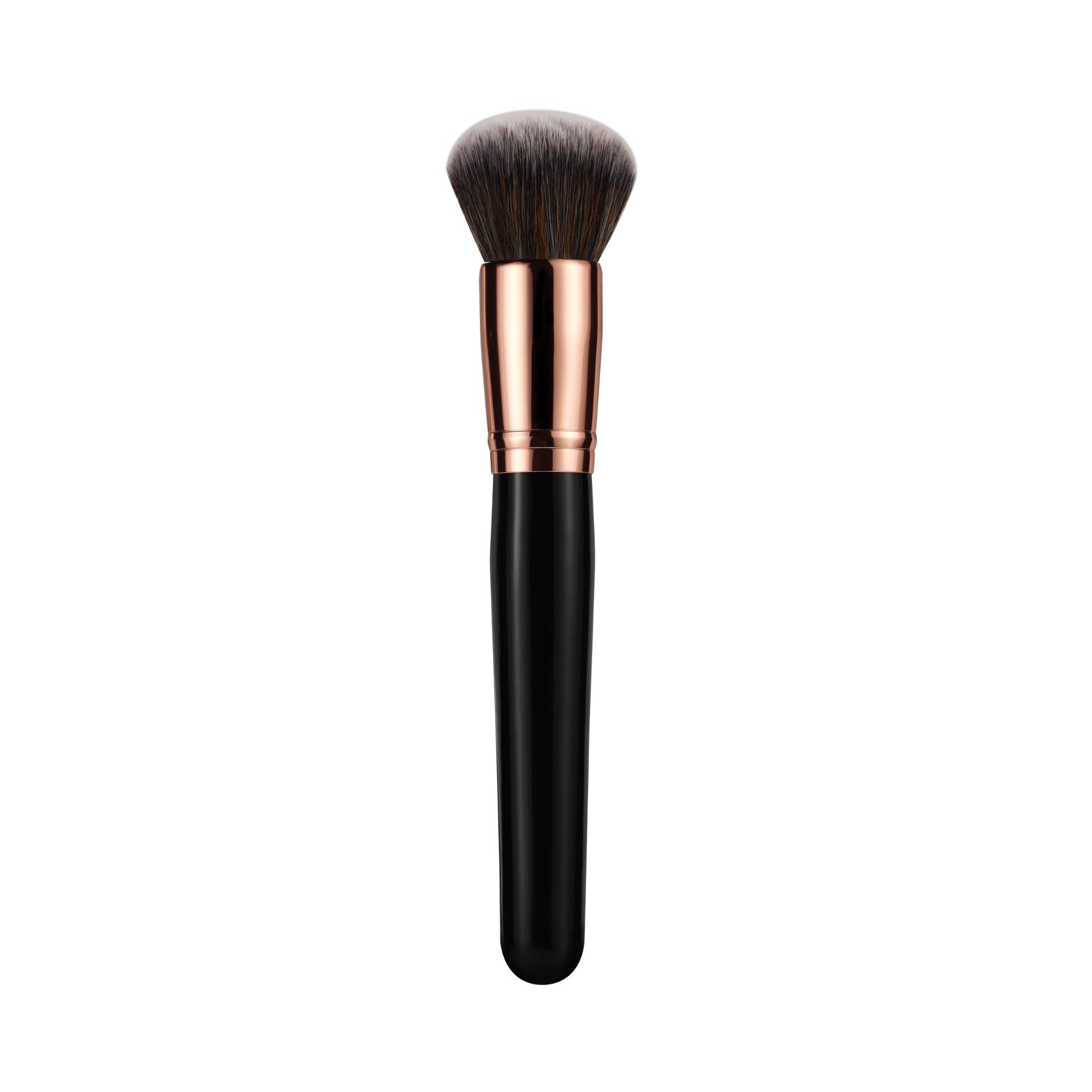 Synthetic Hair Makeup Brush Vegan Multifunction Makeup Brush with Bag
