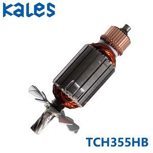 TCH355HB Motor Armature In Hitachi Metal Chop Saw accessory