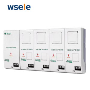 Transparent PC Materials Single Phase electric meter panel box