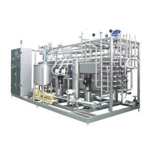 Tube UHT Sterilizer/ Pasteurization/Milk and Juice Tubular Fruit Juice UHT